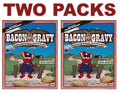 J&D's Bacon Flavored Country Style Gravy (Two Packs)