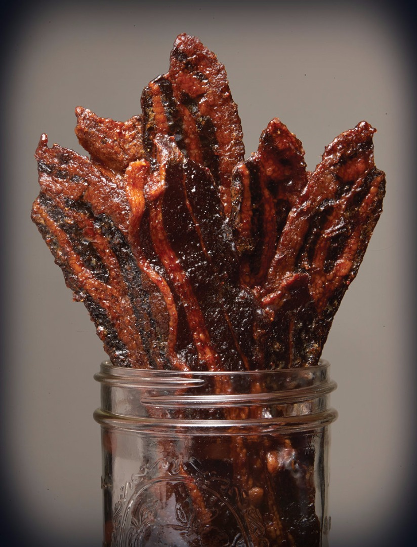 Curley Tail Smoked Habanero Candied Bacon Thick Cut Spicy