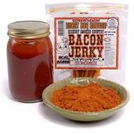100% Real Bacon Jerky - Honey BBQ Flavor