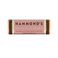 Hammond's Pigs N' Taters Milk Chocolate Bar w/ Bacon Bits & Potato Chips