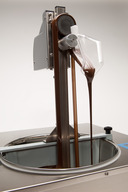 The Skimmer - Belt Driven - Chocovison Chocolate Spout (Fill Molds) - Fits 10 lb machines