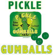 Pickle Flavor Gumballs Dill Flavored Gum Balls Candy