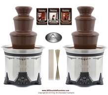 Sephra Elite Chocolate Fountain Deluxe Wedding Event Party Package