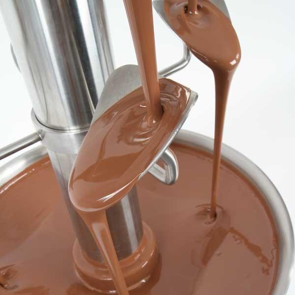 Cascade chocolate fountain tiers