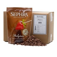 Sephra Belgian Milk Chocolate - Fountain Ready Fondue (20lb case)