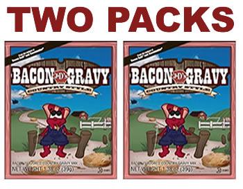 Bacon gravy two