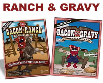 J&D's Bacon Gravy & Bacon Ranch Dressing Combo Pack