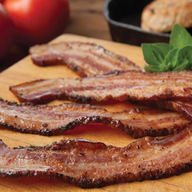 Thick Sliced Cajun Style Country Bacon Steaks - 4 x 1 lb Packages - Thick Cut Gourmet Smokehouse Bacon Gift Box
