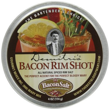 Demitris's Bacon Bloody Mary Spiced Rim Salt (4 oz tin)