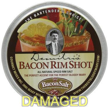 DAMAGED Bacon Flavor Bloody Mary Rim Salt (4 oz tin)