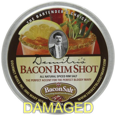 DAMAGED Bacon Flavor Bloody Mary Rim Salt (4 oz tin)
