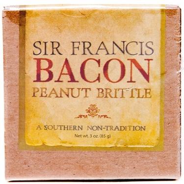 Sir Francis Bacon Peanut Brittle (3 oz Box)