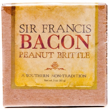 Sir Francis Bacon Peanut Brittle (3 oz Box)