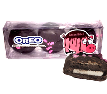 Bacon Dark Chocolate Covered Oreos - Double Stuf Oreo Cookies Dipped in Dark Chocolate