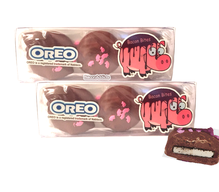 Bacon Milk Chocolate Covered Oreos - TWO PACK - Double Stuf Oreo Cookies Dipped in Milk Chocolate