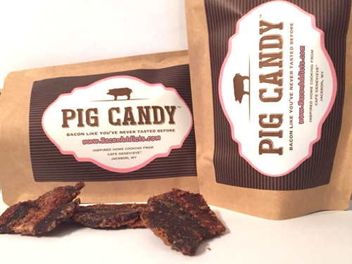 Pig Candy - Two Pack - Sweet & Savory Brown Sugar Spiced Artisan Candied Bacon (1/2 lb)