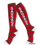 Sausage Socks - Knee High Athletic Socks (Adult Unisex)