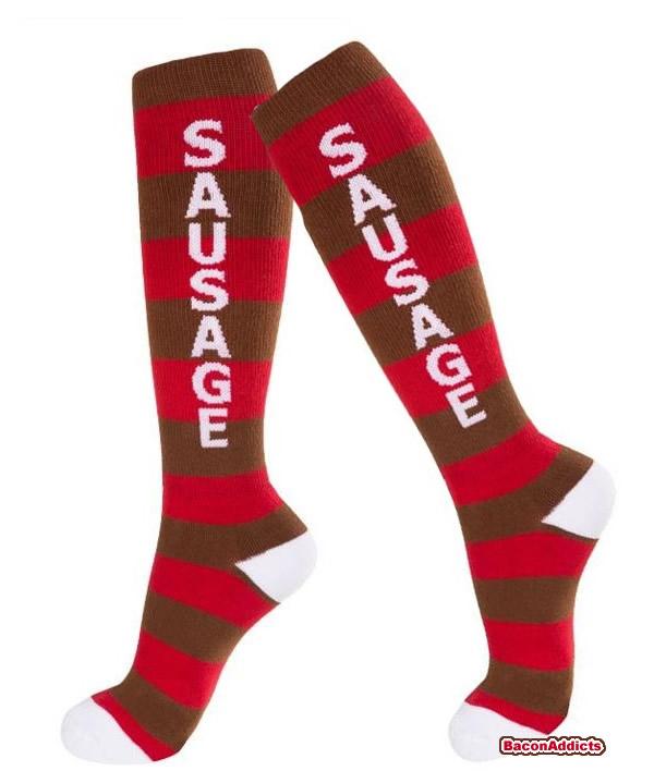 Sausage socks use