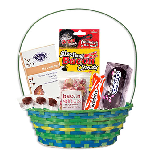 Bacon easter basket