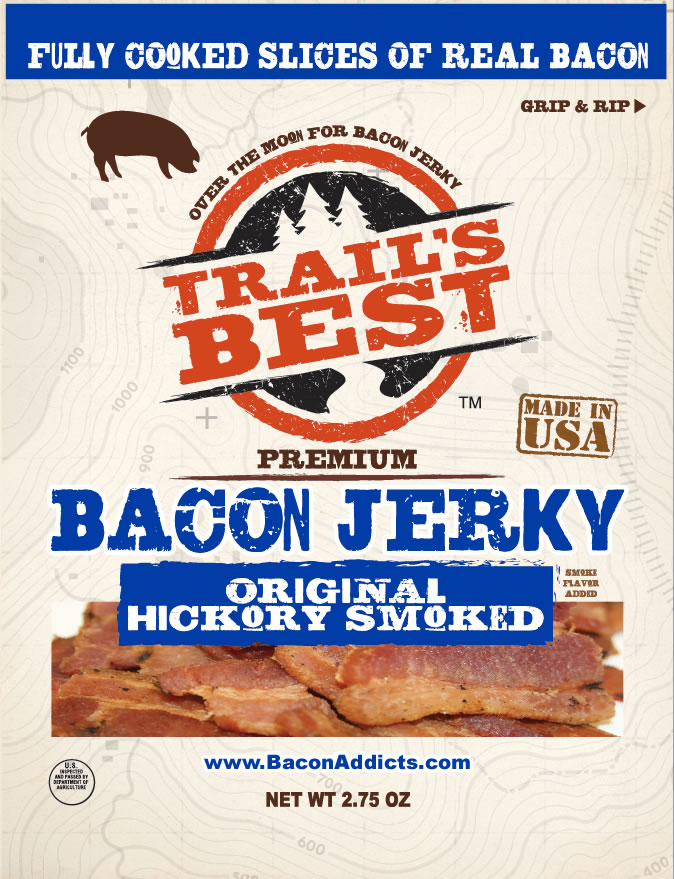 Bacon jerky new