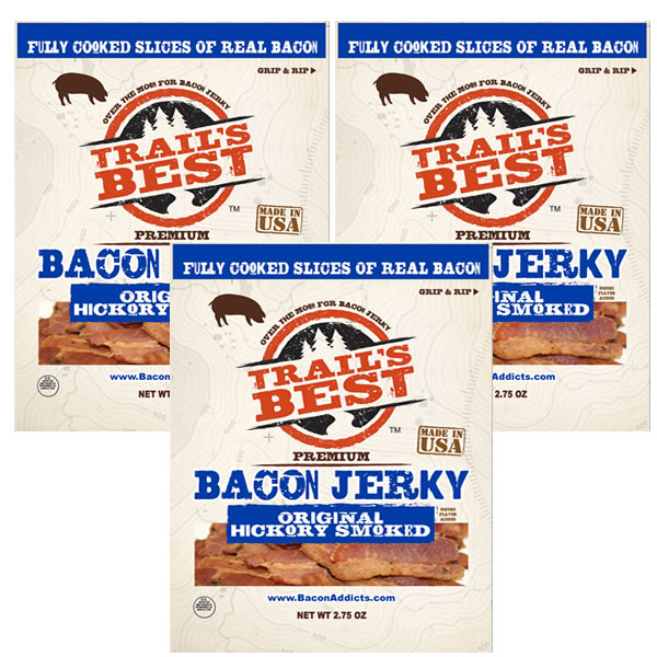 Bacon jerky three new