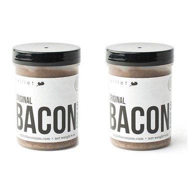 Skillet Street Bacon Jam (2 pack) - Bacon Chutney Spread (2 x 4 oz Jars)