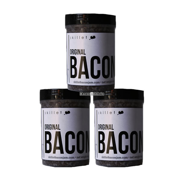 Bacon jam 4oz white 3pk