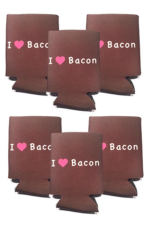 Bacon koozie six