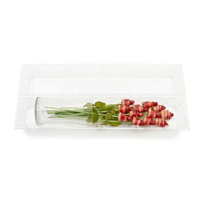 Bacon roses vase 12ct box