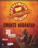 Curley Tail Smoked Habanero Candied Bacon -Thick Cut Spicy Candied Bacon (30 pieces)