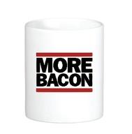 More Bacon Coffee Mug -  Classic White Coffee Tea Cup