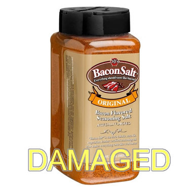 DAMAGED Big Pig Original Bacon Salt (16 oz)