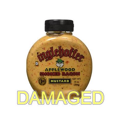 DAMAGED Applewood Smoked Bacon Honey Mustard (10 oz bottle)
