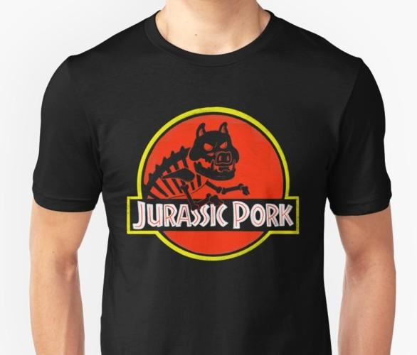 Jurassic pork punpantry design bacon gift foodie