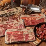 Sliced Bacon Sampler Pack - Dry Cured Bacon Gourmet Smokehouse Gift Box