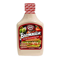 J&D's Baconnaise Bacon Flavor Mayonnaise Spread (15 oz squeeze bottle)