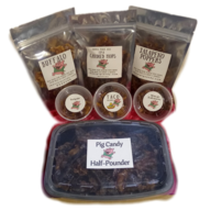 Pig Candy Party Pack - Candied Bacon Game Day Flavors Variety Pack (7 Flavor Sampler)