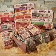 All American Bacon & BBQ Ribs Sampler Pack - Gourmet Smokehouse Bacon Gift Box