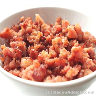 Bacon Crumble Variety Pack (4 Flavor Sampler) - Maple Chesapeake Bay, Char Siu, Vanilla Bourbon & Mango Habanero Crumbled Bacon Bits Crumbles  (4 Original Flavors)