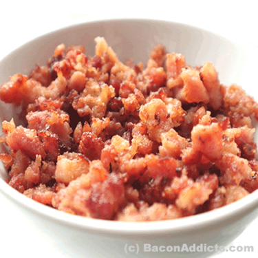 JD's House of Bacon Crumble (3 Pack) - Smoked & Cured Crumbled Bacon Bits Crumbles (6 Flavor Options)