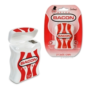 Bacon Flavor Floss Flavored Waxed Dental Floss
