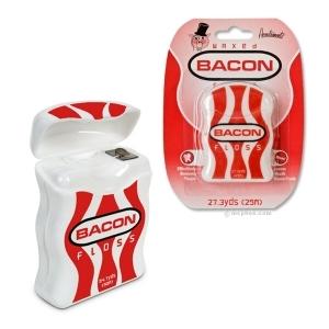 Bacon Flavor Floss Flavored Waxed Dental Floss