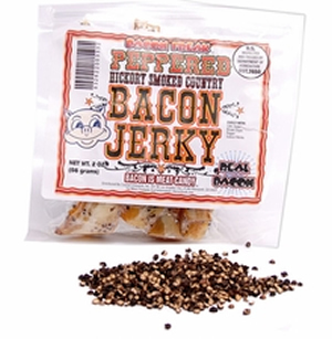 100% Real Bacon Jerky - Black Pepper Flavor