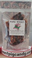 Pig Candy Maple Whiskey - 3 Pack - I Want Pig Candy Sweet Candied Bacon (3 x 3 oz Bags)