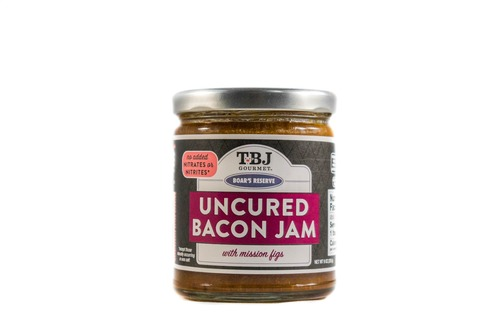 Two Pack Balsamic Fig Bacon Jam - Uncured Bacon Jam Spread with Mission Figs (9 oz jar)
