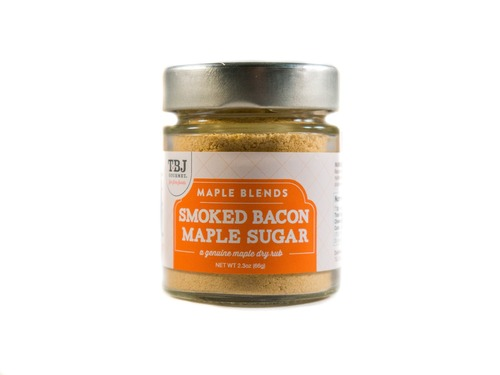 Smoked Bacon Maple Sugar - Canadian Maple Sugar & Bacon Blend Dry Rub (2.3 oz)