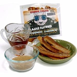 100% Real Bacon Jerky - Sweet Maple Flavor