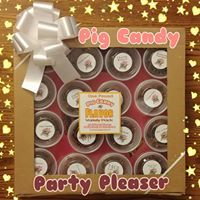 Pig Candy One Pound Flavor Variety Pack - Glazed & Candied Bacon Sampler Box Gift Set (16 Flavors)
