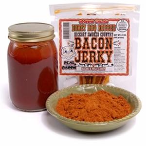 100% Real Bacon Jerky - Honey BBQ Flavor