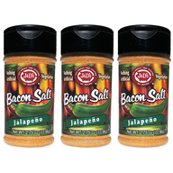 J&D's Jalapeno Bacon Salt - 3 PACK - Low Sodium All Natural Flavored Seasoning
